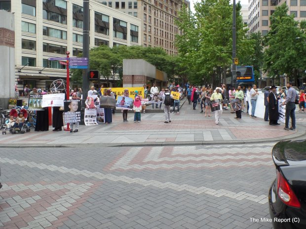 Al Quds Day Rally; Seattle, WA. July 10, 2015
